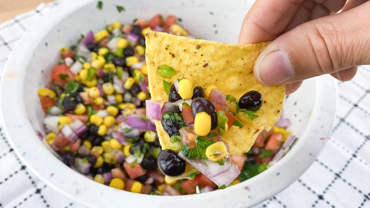 Family Famous Black Bean And Corn Salsa