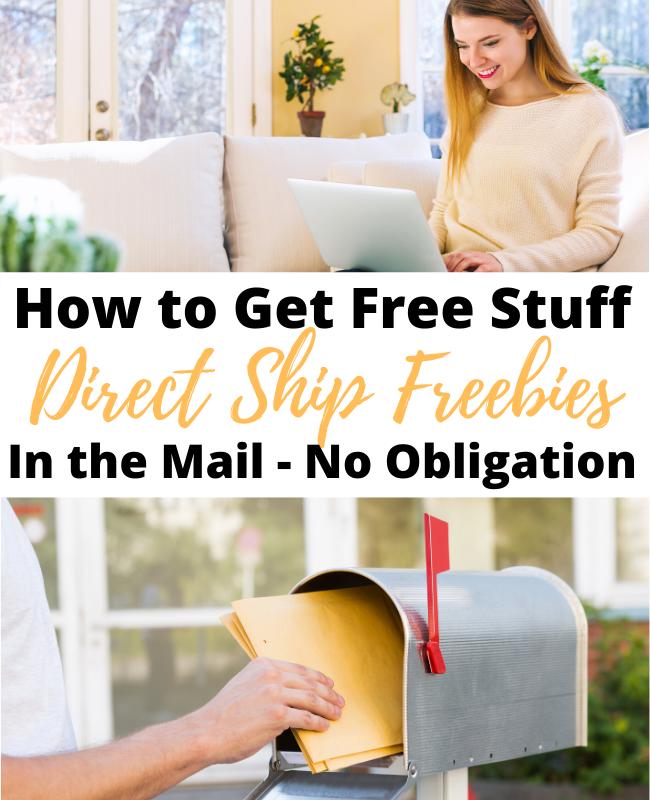Direct Ship Freebies Pinterest