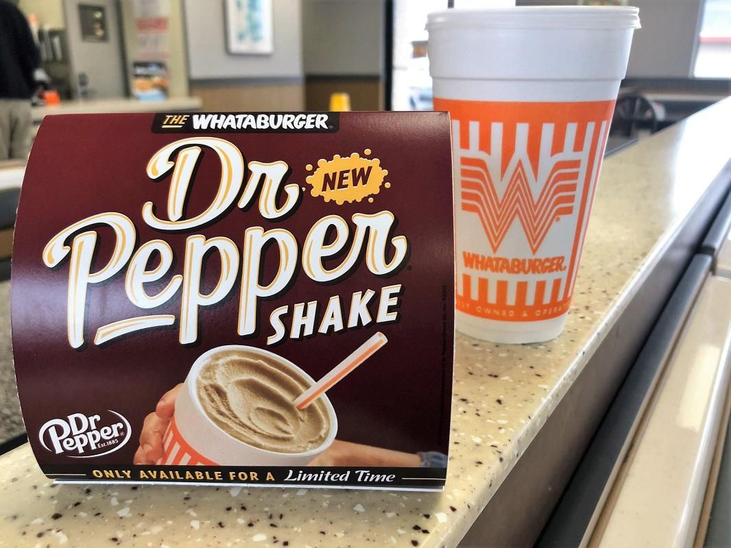 Dr Pepper Shake BOGO free