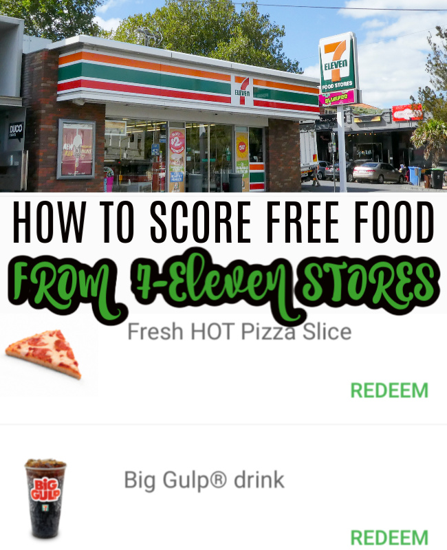 Score Free Food at 7 Eleven