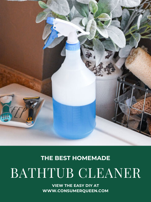 Homemade Bathtub Cleaner Pinterest