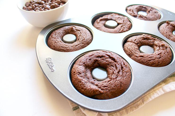 Keto Chocolate Donuts IN BAKING PAN