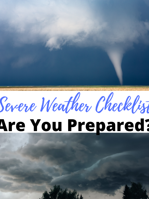 Severe Weather Checklist