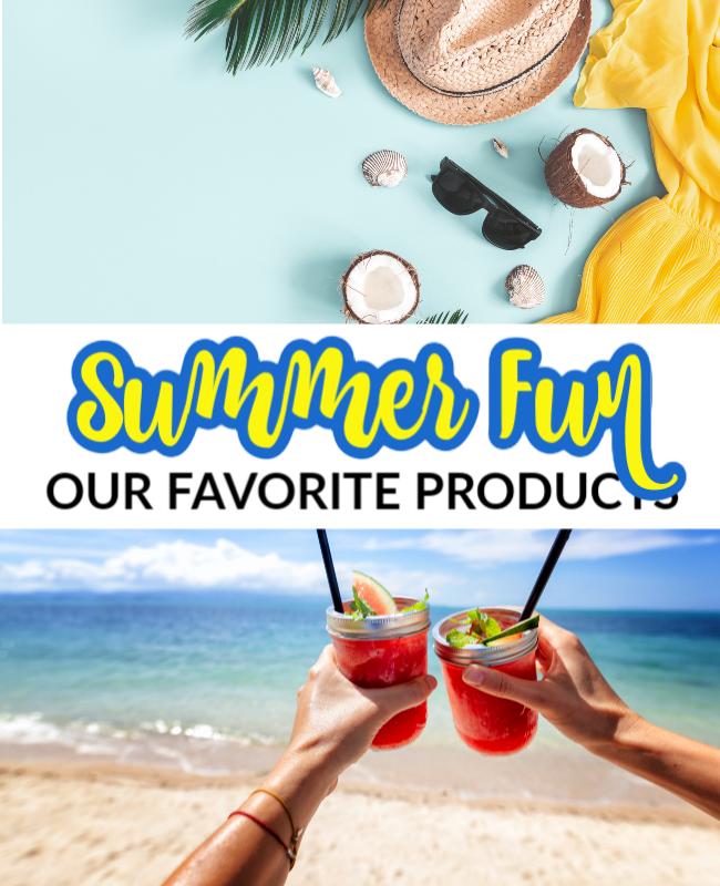 Summer Fun- Pinterest Header