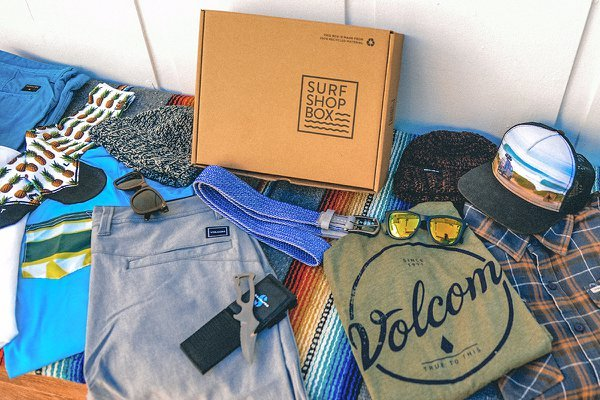 Surf Shop Crate Joy for Father's Day Gift