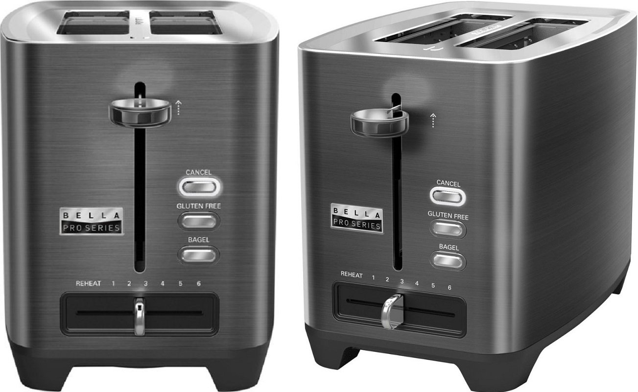 Bella Extra Wide 2-Slot Toaster