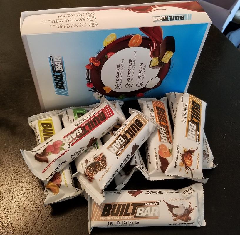 Built Bar protein bars