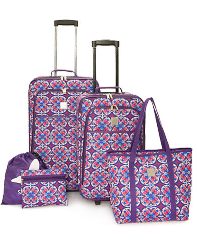 carry-on luggage sets at Belk