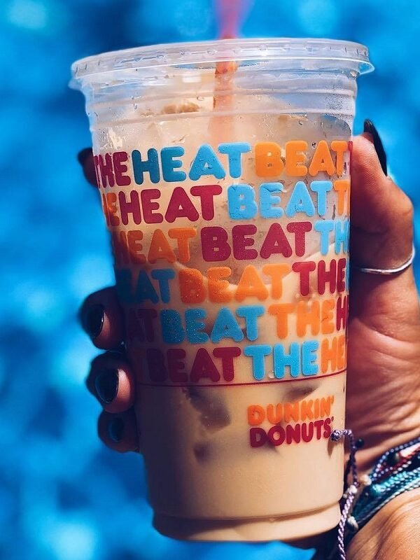 iced coffees only $2 at Dunkin'