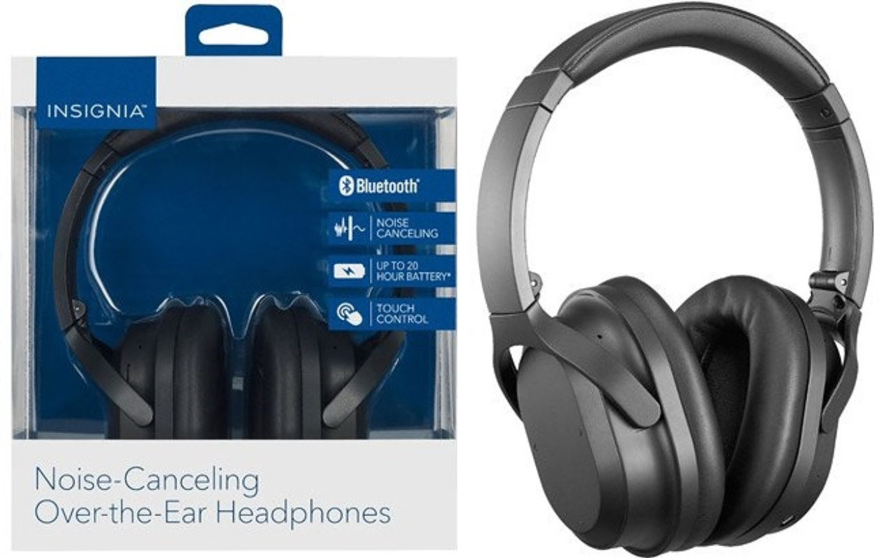 Insignia Wireless Noise Canceling Earphones ONLY $44.99 – Ships Free (Reg. $100) *EXPIRED*