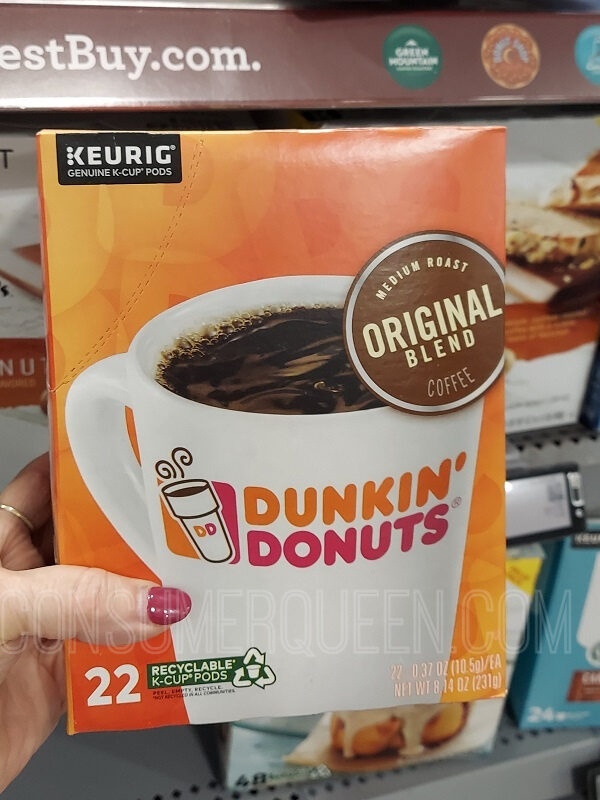 Keurig K Cups 22-24 ct. $9.99 (Reg. $15.99) *EXPIRED*