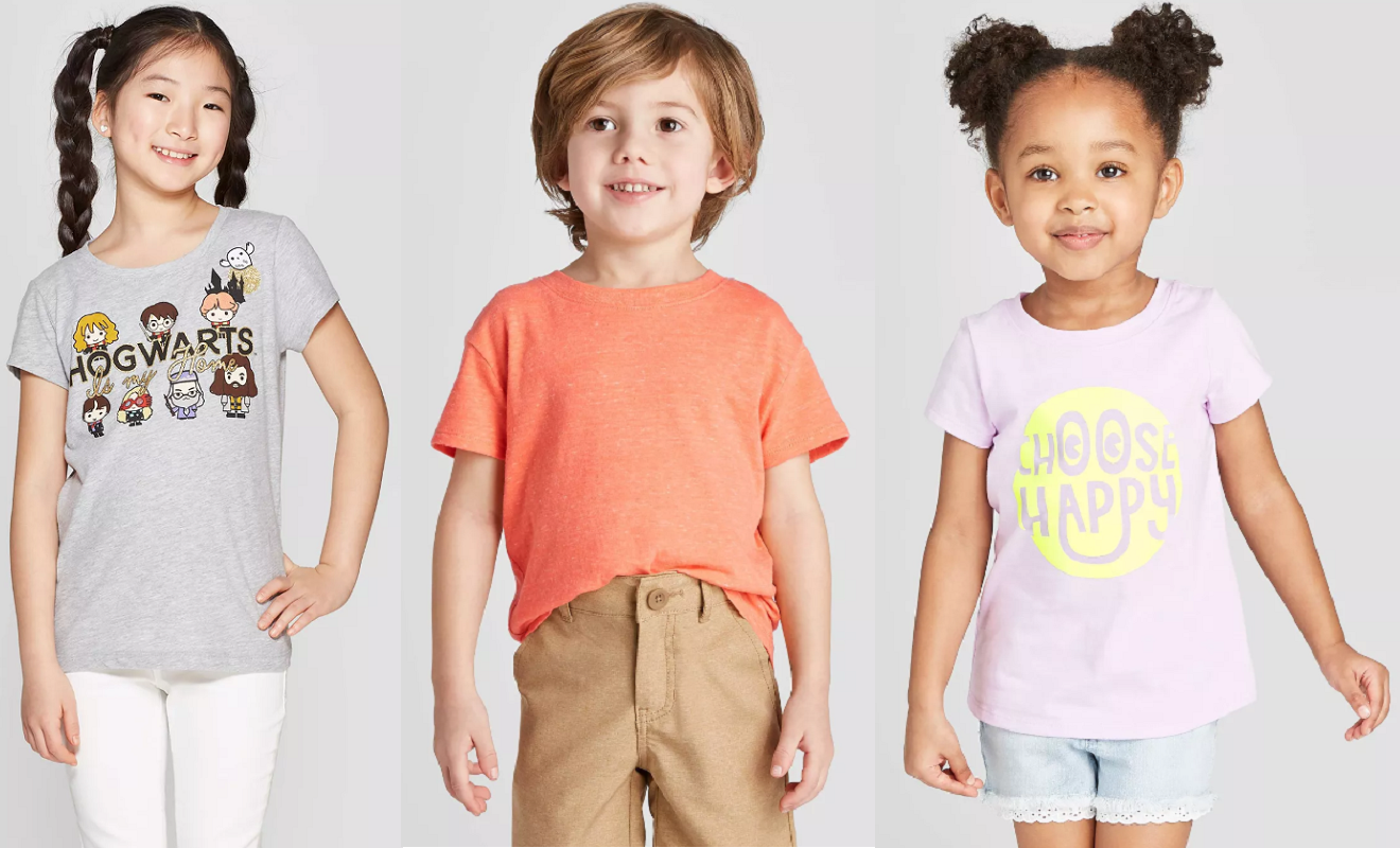 Kid's Tees on Sale at Target (as Low as $2.87) – Get Ready For Summer!