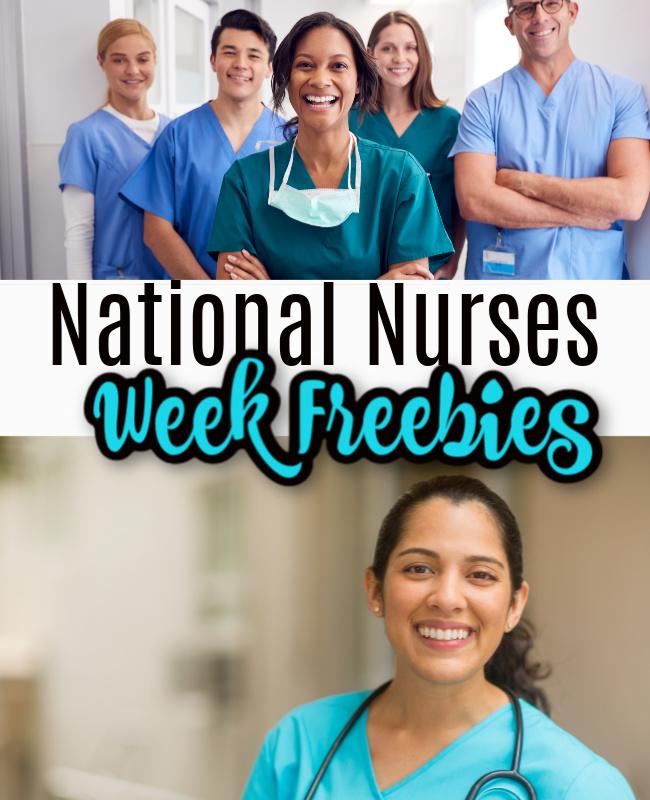 National Nurses Week Freebies & Offers 2021 – Spread The Word!