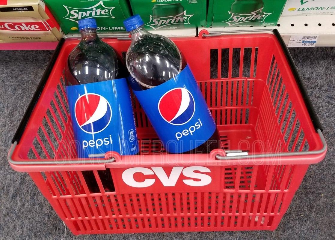 Pepsi 2-liters at CVS