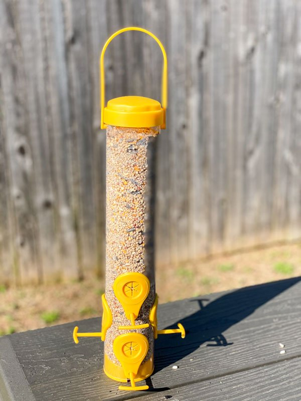 perky pet finch bird feeder