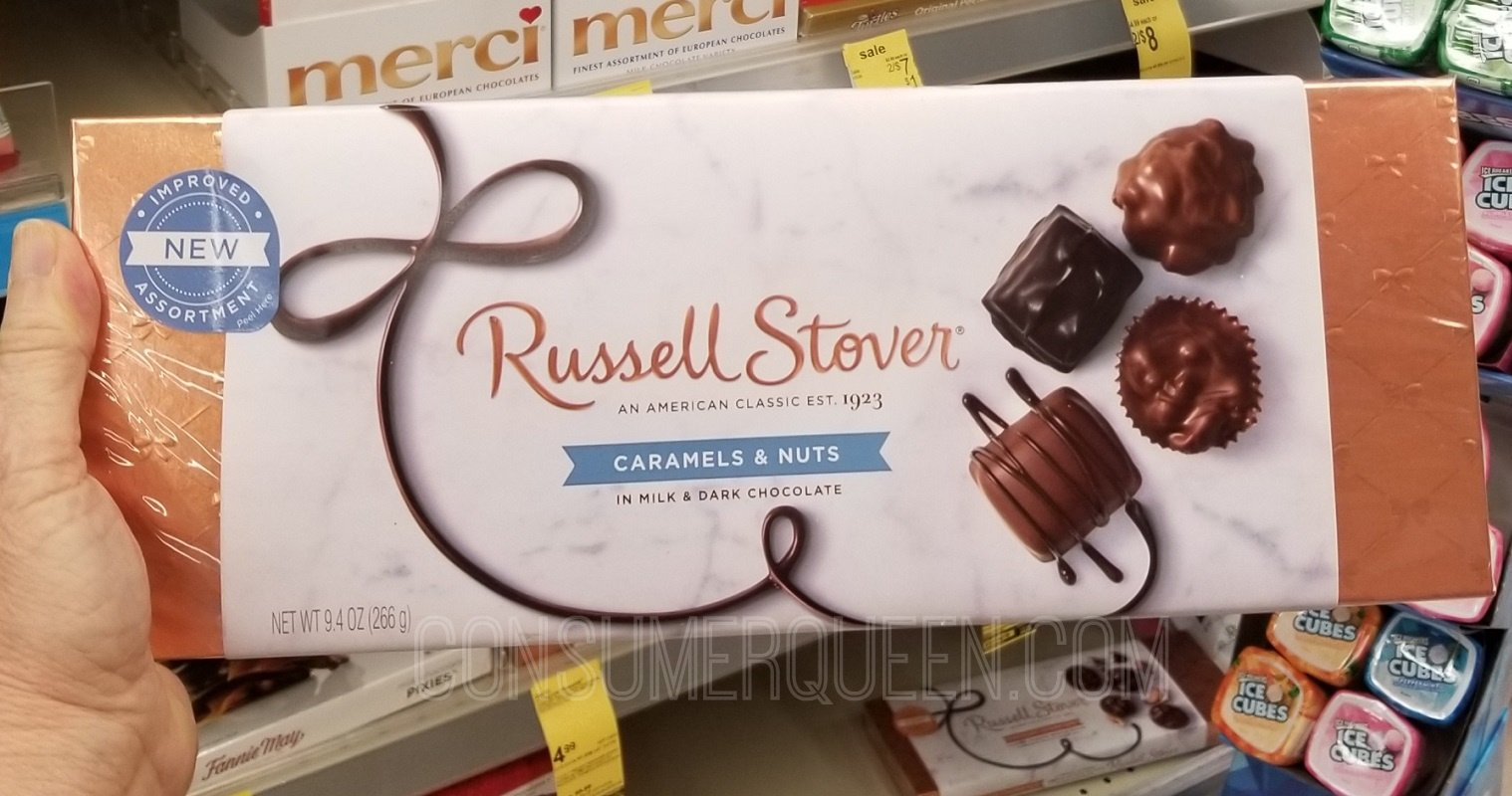 russell stover boxed candy