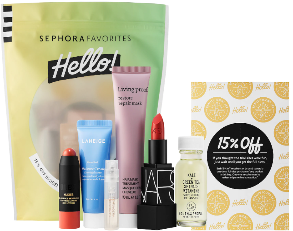 Sephora Hello! Beauty Icons Set ONLY $10 – Ships Free ($36 Value) + Urban Decay Deal!