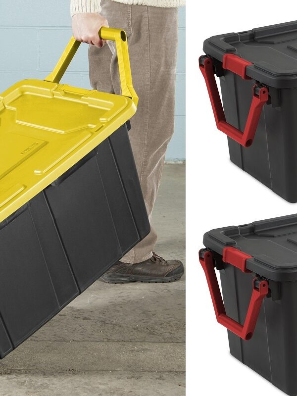 Sterlite 40 Gallon Wheeled Industrial Totes