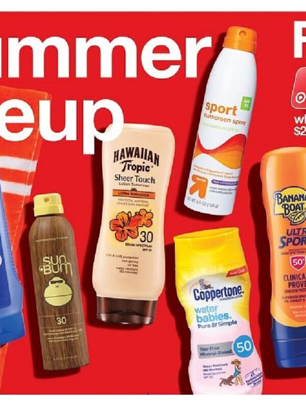 Sunscreen as Low as $3.24 at Target After Gift Card (Reg. $6.99!)