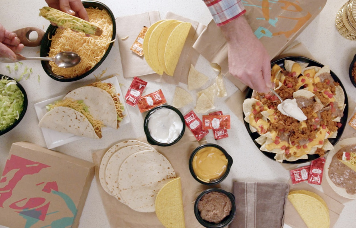 Taco Bell Taco Bar – Create Your Favs at Home for Only $25!