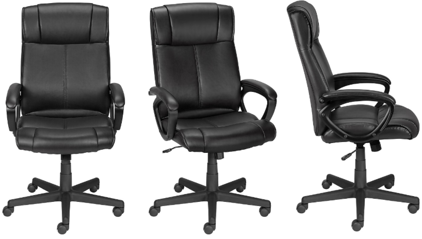 Turcotte Computer and Desk Chair ONLY $46.46 - Ships Free (Reg. $46!)