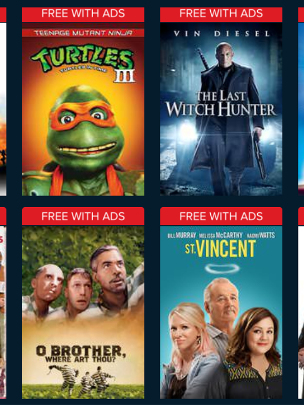 Stream Free Movie + $2 Vudu Credit