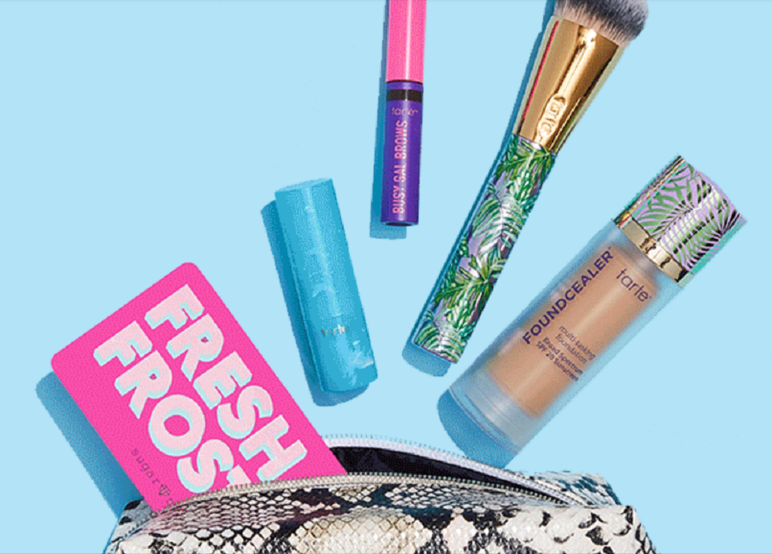 7 Full Size Products From Tarte Only $63 Shipped (Reg. $211) – Create Your Own Kit!