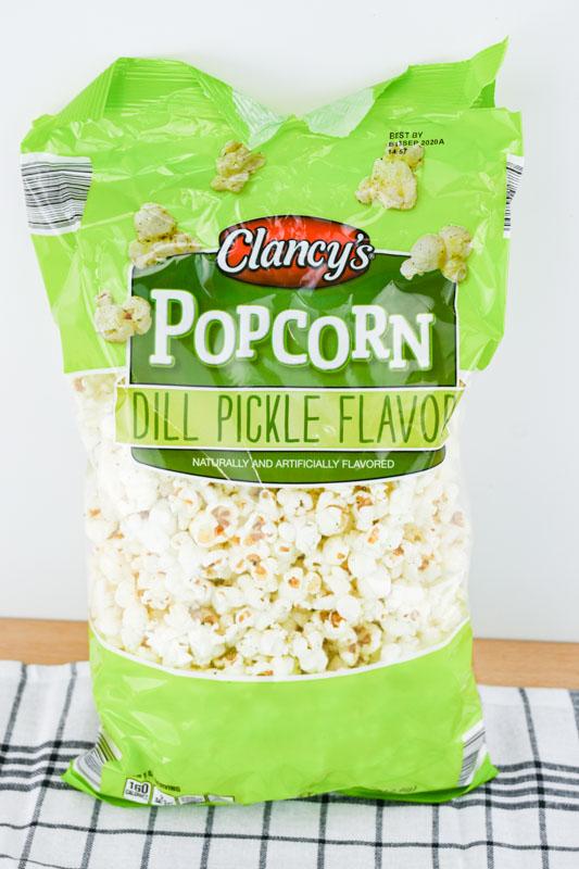 Dill Pickle Popcorn from Aldi