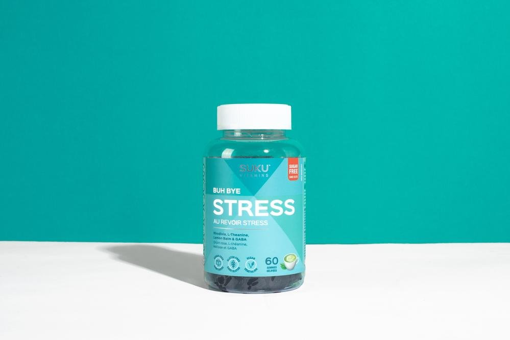 Buh Bye Stress Supplement from SUKU