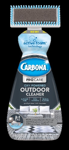 Carbona Outdoor Cleaner with Brush attached