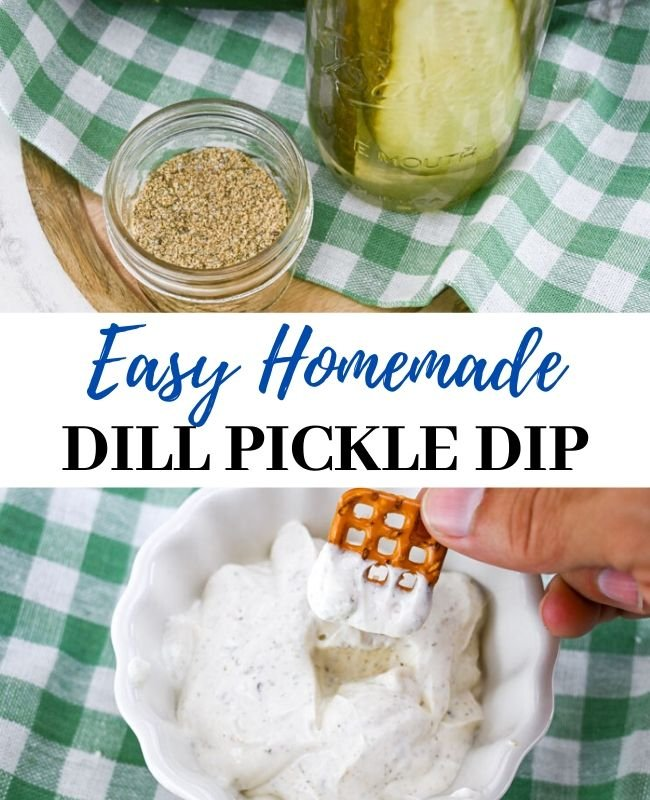 Easy Homemade Dill Pickle Dip