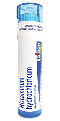 Histaminum HydroChloricum- from Boiron for Summer Fun Guide