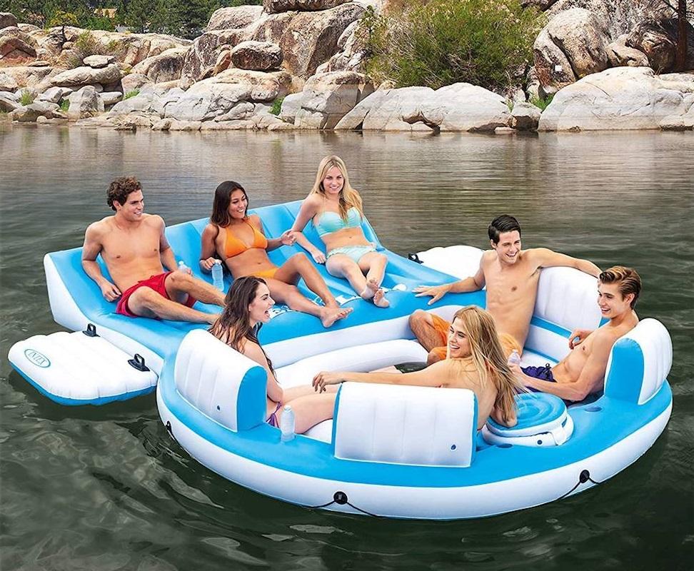 Intex Floating Lounge Island