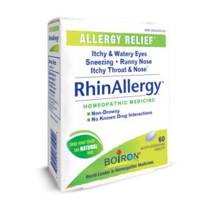 RhinAllergy from Boiron- Summer Fun Guide