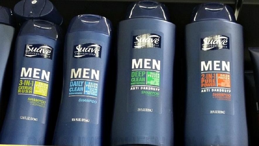 suave men shampoo
