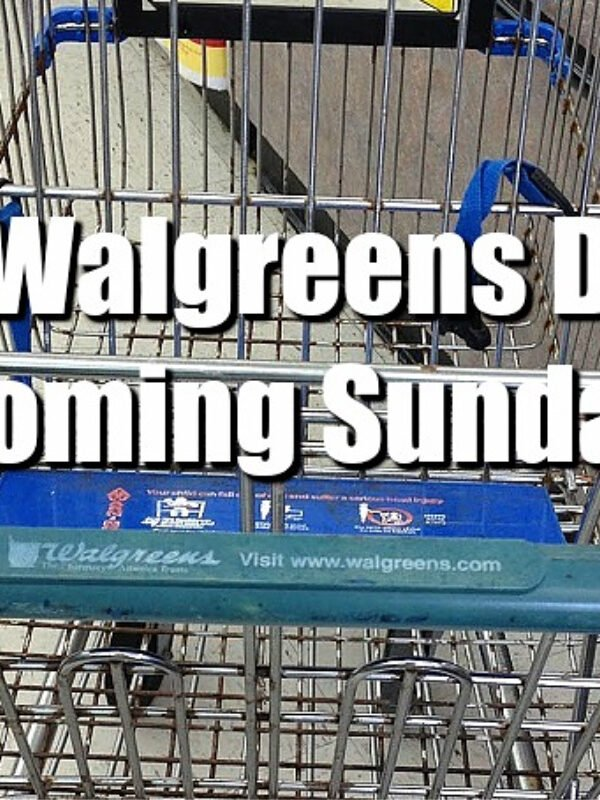 Top 5 Walgreens Deals Starting This Coming Sunday (Sept.27th)