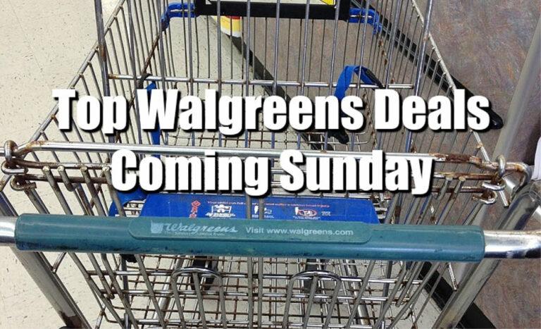 TOP 5 Walgreens Deals Coming Sunday