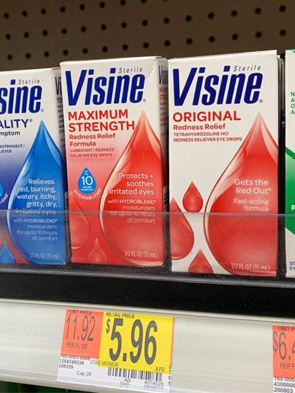 Visine as Low as FREE at Target + Walmart Deal!
