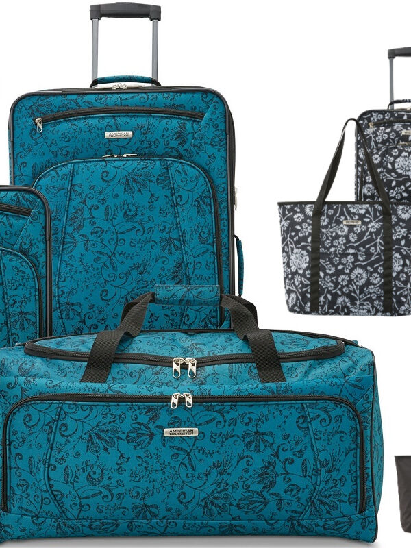 American Tourister Riverbend 4 Piece Luggage ONLY $44 – Ships FREE (Reg. $280!)