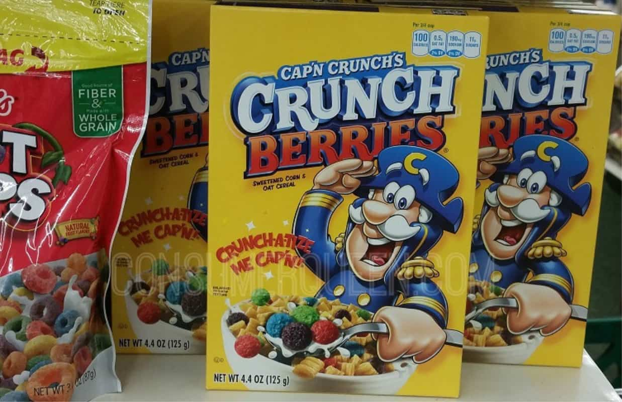 Cap'n Crunch Cereal Coupon Just 50¢ at Dollar Tree