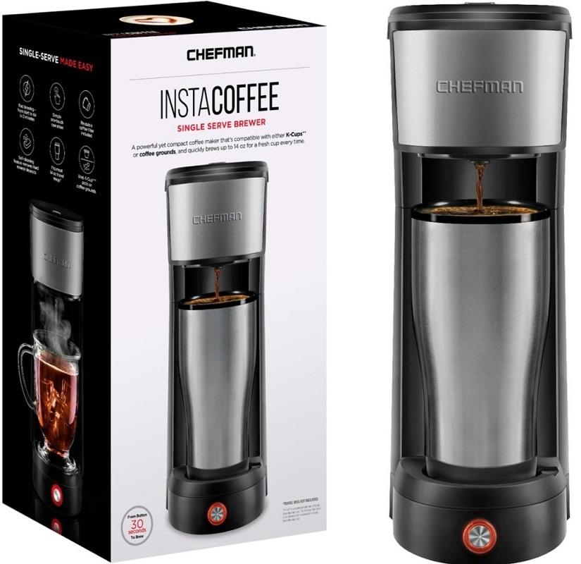 Chefman Single Serve K-Cup Coffee Maker $24.99 – Regularly $50 *EXPIRED*