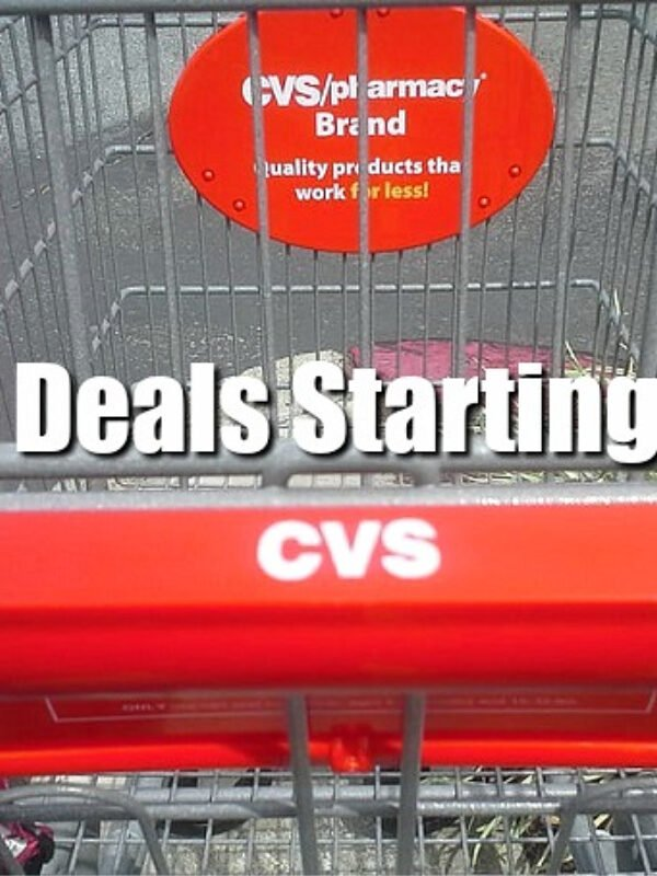 Top 5 CVS Deals Starting This Coming Sunday (August 16th)