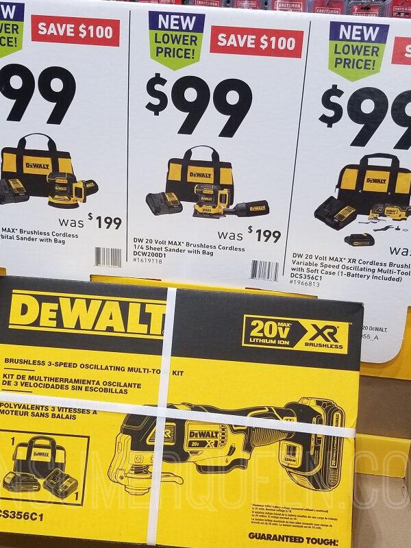 DeWalt Cordless Tools at Lowes