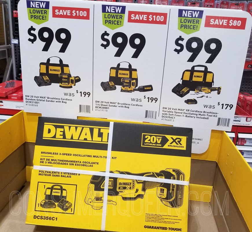 Dewalt Cordless Tools ONLY $99 Shipped (Reg. $199) – Father's Day!