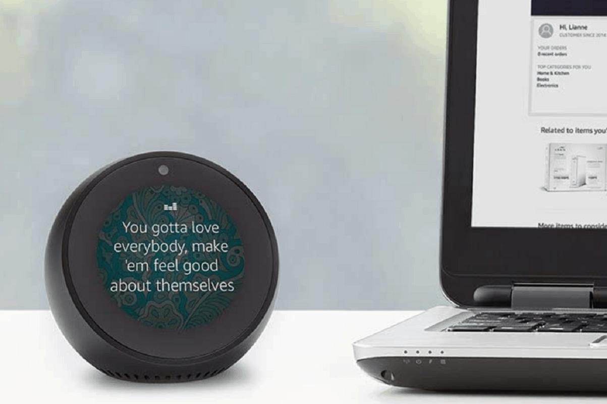 Echo Spot Alarm Clock w/Alexa ONLY $49.99 (Reg. $130!)