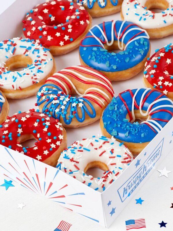 Krispy Kreme InDOUGHpendence Day Dozen