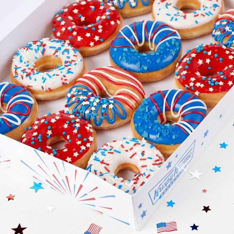 Krispy Kreme InDOUGHpendence Day Dozen Only $12.99 – Limited Time! *EXPIRED*
