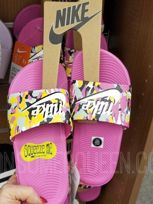 Nike and Adidas Slides
