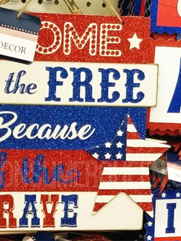 Patriotic Finds at Dollar Tree!