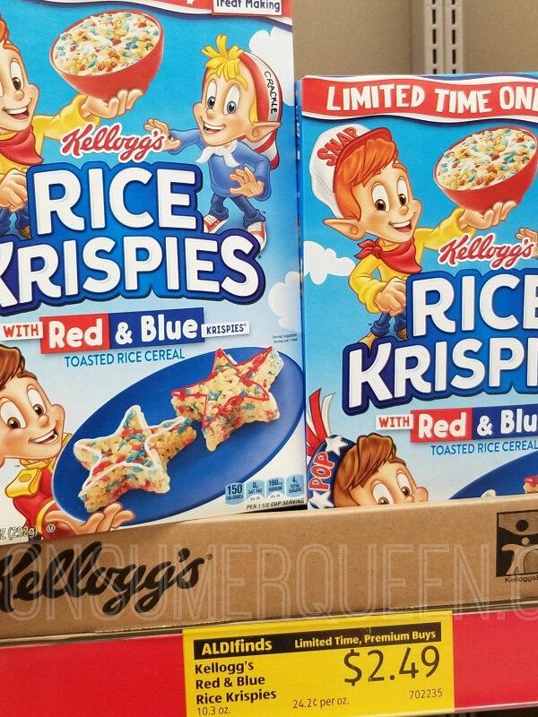 Rice Krispies at Aldi – Only $1.99 After Cash Back